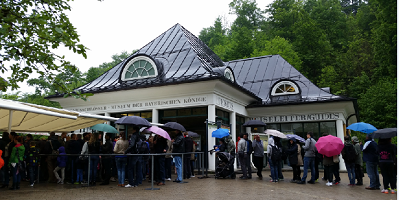 Neuschwanstein castle ticket centre